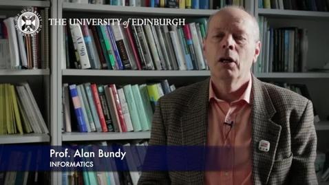 Thumbnail for entry Alan Bundy -  Informatics - Research In A Nutshell -  School of Informatics -18/03/2013