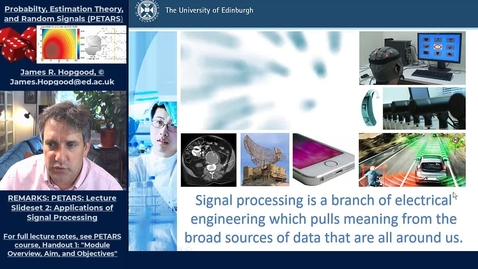 Thumbnail for entry Topic 4: What is Signal Processing? (PETARS, Chapter 2)