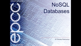 Thumbnail for entry NoSQL 1