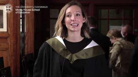 Thumbnail for entry Graduation - November 2018 Moray House School of Education and Sport