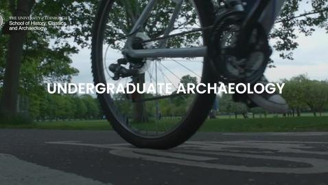 Thumbnail for entry Undergraduate Archaeology at Edinburgh