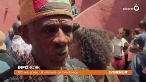 """Thumbnail for entry Le 18ème """"konvwa pou reparasyon"""" en voyage à Gorée"""