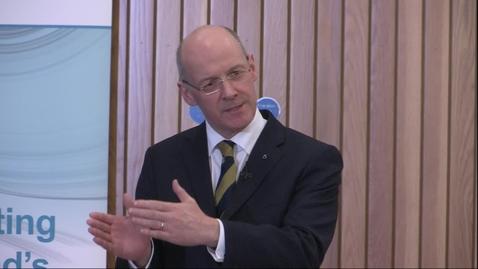 Thumbnail for entry IV Tuesday: Deputy First Minister, Mr John Swinney - Innovation and Entrepreneurship