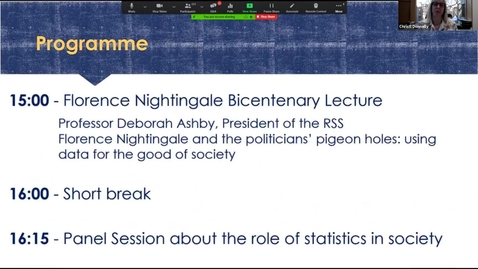 Thumbnail for entry Florence Nightingale Lecture 1