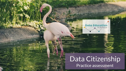 Thumbnail for entry Data Citizenship Level 4-5 Zoo activity Part 4a