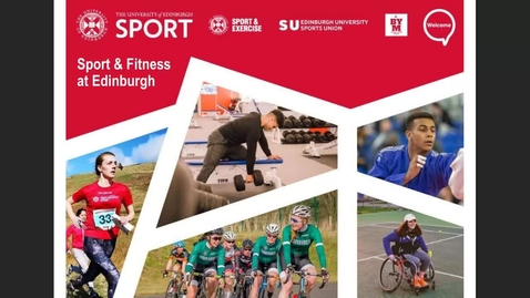 Thumbnail for entry (UG/PG) How to get Active at Edinburgh