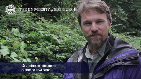Thumbnail for entry Simon Beames-Outdoor Learning -Research In A Nutshell-The Moray House School of Education-27/08/2012