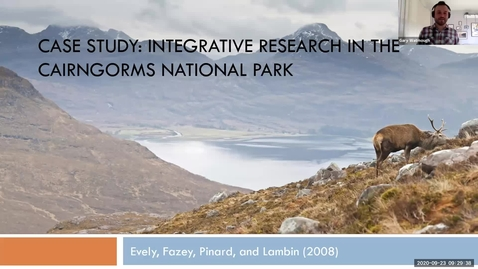 Thumbnail for entry Week 1 Lecture 2 - Case Study - Integrative Research Example