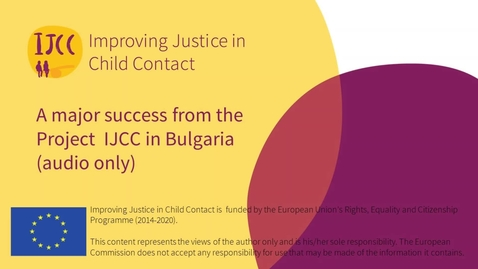 Thumbnail for entry A major success from the Project IJCC in Bulgaria