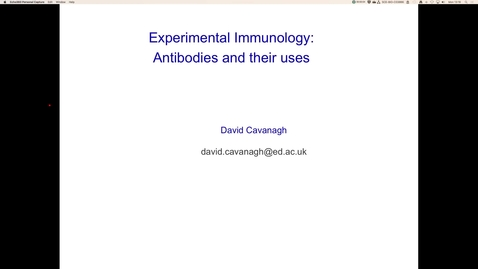 Thumbnail for entry Introduction to antibodies and their uses