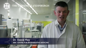 Thumbnail for entry David Hay - MRC Centre for Regenerative Medicine - Research In A Nutshell - MRC Centre for Regenerative Medicine -27/06/2012