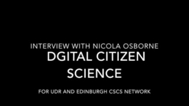 Thumbnail for entry Nicola Osborne on Digital  Citizen Science