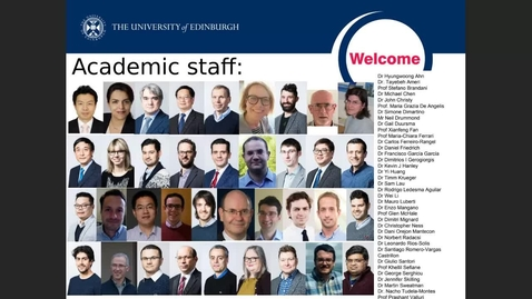 Thumbnail for entry Chemical Engineering New Students Welcome Talk - Chemical Engineering