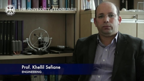 Thumbnail for entry Khellil Sefiane: Two phase flows and heat transfer