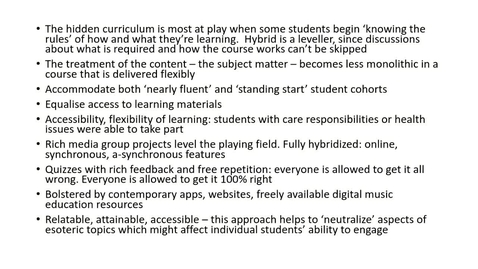 Thumbnail for entry Part 4: L&T 2020 Critical approaches to hidden curriculum with hybrid learning