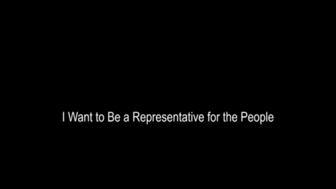 Thumbnail for entry I Want to be a People's Representative