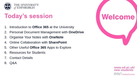 Thumbnail for entry How-to manage Personal Documents and Online Collaboration at the University
