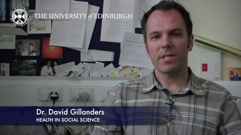 Thumbnail for entry David Gillander -Health In Social Science - Research In A Nutshell- School of Health in Social Science-02/07/2012