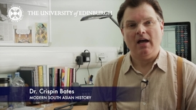 Thumbnail for entry Professor Crispin Bates -Modern South Asian History- Research in a Nutshell