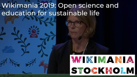 Thumbnail for entry Open science and education for sustainable life