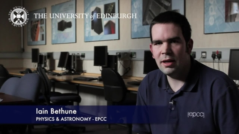 Thumbnail for entry Iain Bethune - Physics and Astronomy -EPCC - Research In A Nutshell - School of Physics and Astronomy -26/03/2012