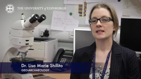 Thumbnail for entry Lisa Marie Shillito- Geo Archaeology -Research In A Nutshell-School of History, Classics and Archaeology-21/05/2015 (Historical)