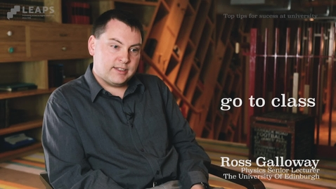 Thumbnail for entry Top Tip #2: Ross