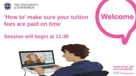 Thumbnail for entry How-to Pay Tuition Fees and related costs