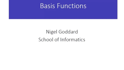 Thumbnail for entry Basis Functions
