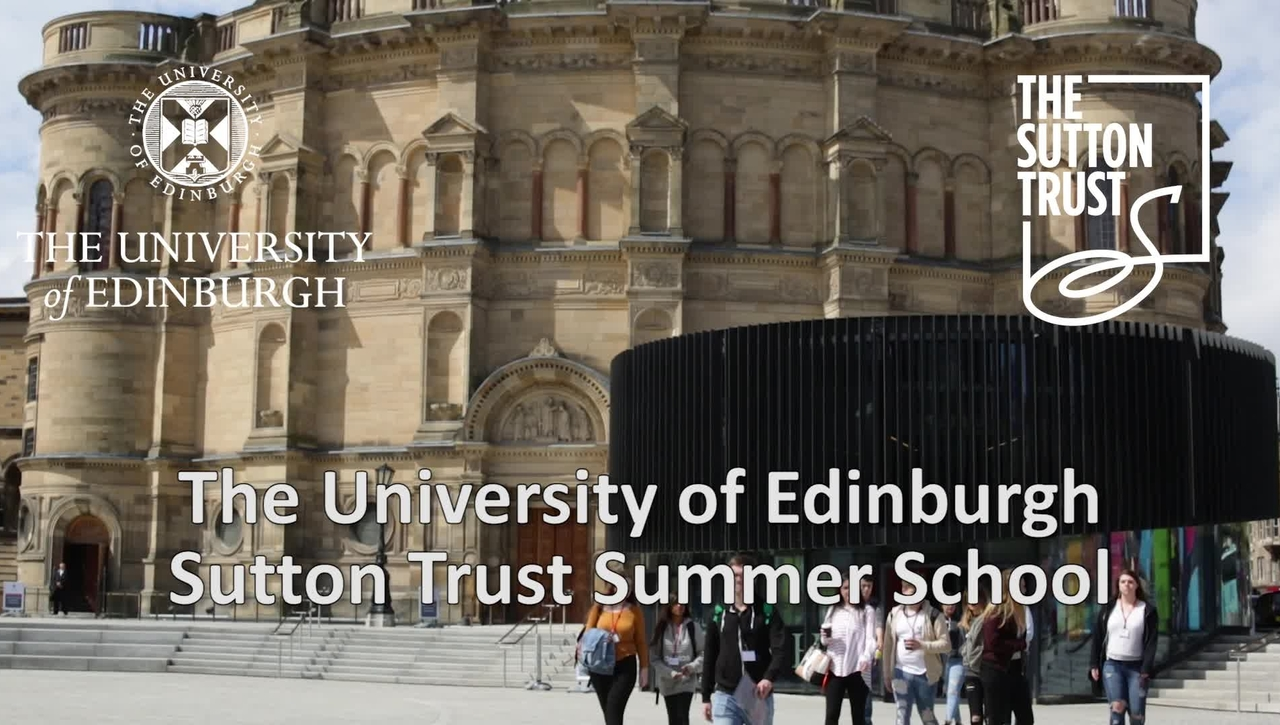 Sutton Trust Summer School 2017