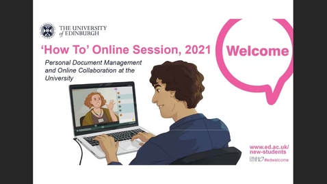 Thumbnail for entry (UG/PG) How-to manage Personal Documents and Online Collaboration at the University