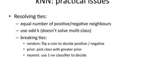 Thumbnail for entry Breaking ties between nearest neighbors