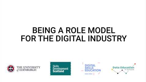 Thumbnail for entry Video 4 - Being a role model for the digital industry