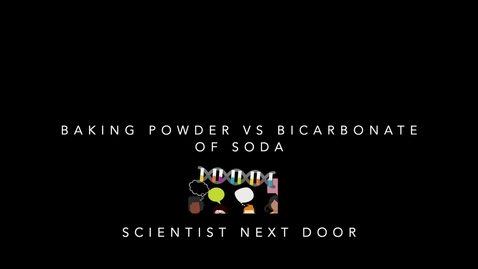 Thumbnail for entry Baking powder vs Bicarbonate of soda