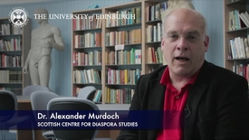 Thumbnail for entry Alexander Murdoch- Scottish Centre For Diaspora Studies -Research In A Nutshell