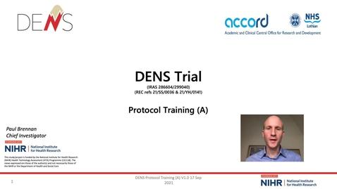 Thumbnail for entry DENS SIV background Training slides