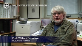 Thumbnail for entry Bill Earnshaw - Biological Sciences- Research In A Nutshell - School of Biological Sciences -21/01/2013