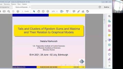 Thumbnail for entry Natalia Markovich EVA Talk Preview