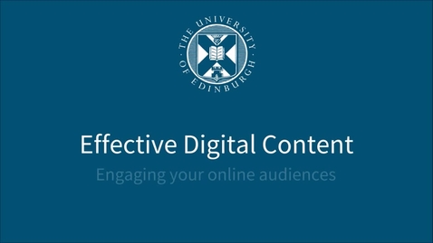 Thumbnail for entry Readable web addresses - Effective Digital Content