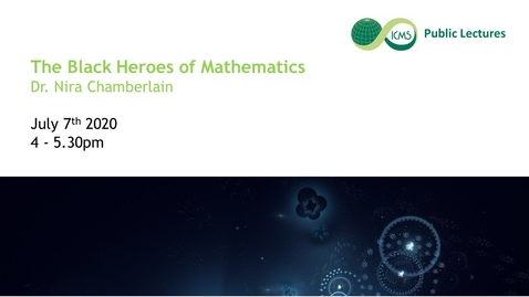 Thumbnail for entry The Black Heroes of Mathematics