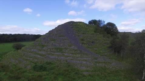 Thumbnail for entry Coal spoil heap at Hartwood research farm