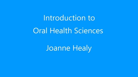 Thumbnail for entry Joanne Healy