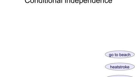 Thumbnail for entry Mutual Independence vs Conditional Independence