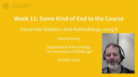 Thumbnail for entry USMR lecture 10 part 1