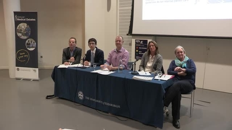 Thumbnail for entry Edinburgh Medical Debate 2018