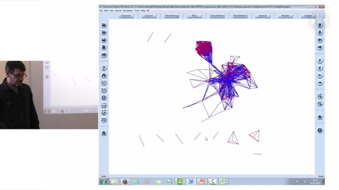 Thumbnail for entry 9. Network analysis of Expression data – sample-sample correlation graph 1 (Practical Session)