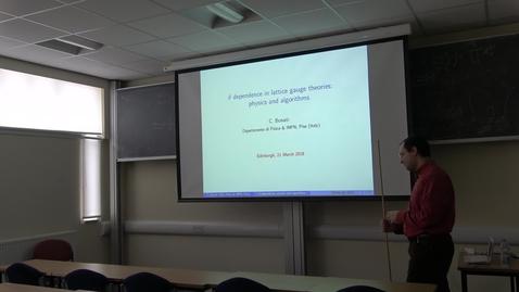 Thumbnail for entry PPT Seminar: Theta dependence in lattice gauge theories: physics and algorithms - Claudio Bonati (Pisa)
