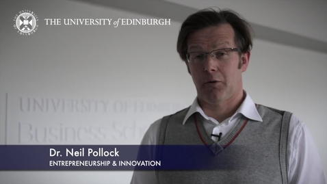 Thumbnail for entry Neil Pollock-Entrepreneurship-Research In A Nutshell-Business School-24/01/2013