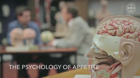 Thumbnail for entry Understanding obesity - The psychology of appetite
