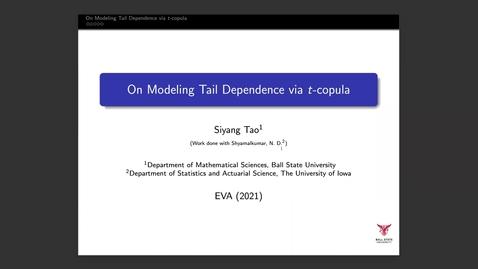 Thumbnail for entry Siyang Tao EVA Talk Preview